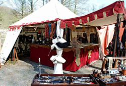 Sales tents and stands