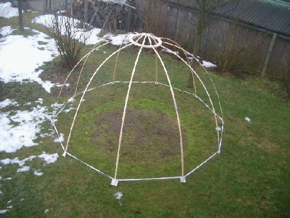 wigwam pantheon dome tent famwest natural tents. Black Bedroom Furniture Sets. Home Design Ideas